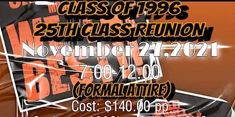 CHS C/O 1996 25th Class Reunion tickets