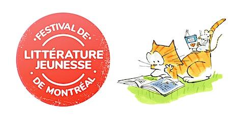 Festival de littérature jeunesse de Montréal billets
