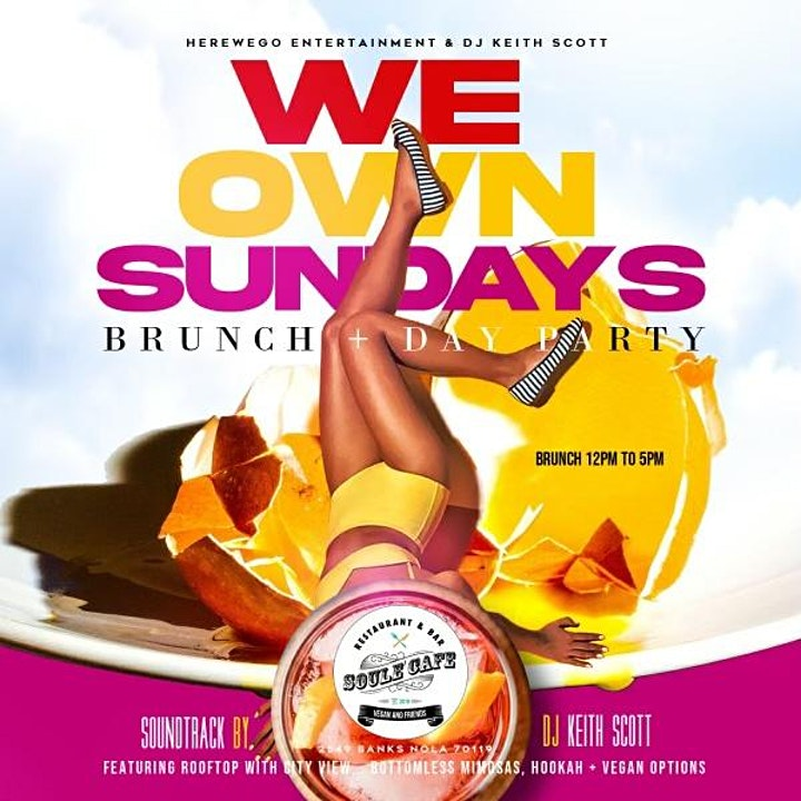 WE OWN SUNDAYS BRUNCH & DAY PARTY image