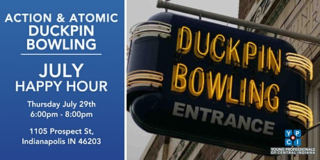 YPCI: July Happy Hour at Action Bowling Duckpin tickets