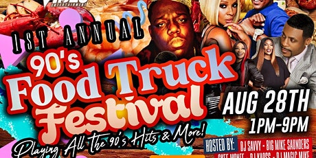 90s' Food Truck Festival tickets