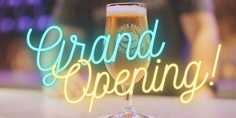 Siren Rock Brewing Company Grand Opening tickets