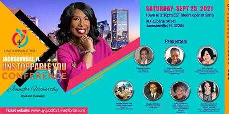Unstoppable You Conference - Jacksonville, FL (Virtual and In-Person) tickets