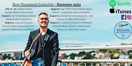 Farewell Concert - Ben Diamond, Guitarist tickets