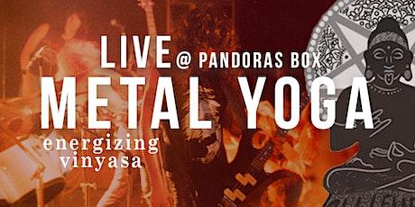 LIVE Metal Yoga: All Level Energizing Vinyasa tickets