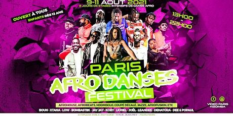 Paris Afro danses Festival / 9-11 Aout 2021 / Enfant et Adulte billets