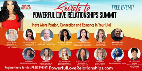 Secrets to Powerful Love Relationships tickets