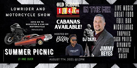 Old School Picnic Car and Bike Show tickets
