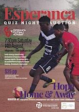 Esperança Quiz Night & Auction tickets