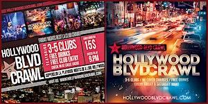 Friday Hollywood Club Crawl LA