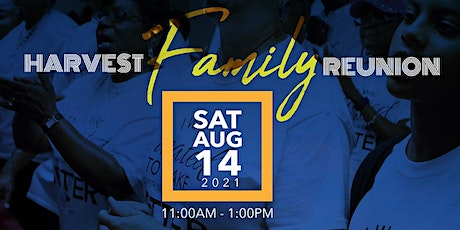 Harvest Family Reunion tickets