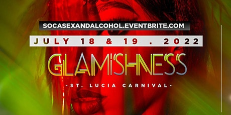 Glamishness St. Lucia tickets