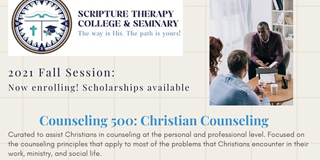 Counseling 500: Christian Counseling tickets
