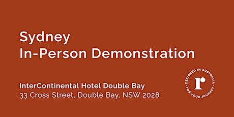 Sydney   Sun 12th September tickets