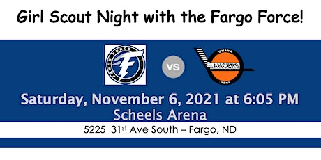 Girl Scout Night with the Fargo Force tickets