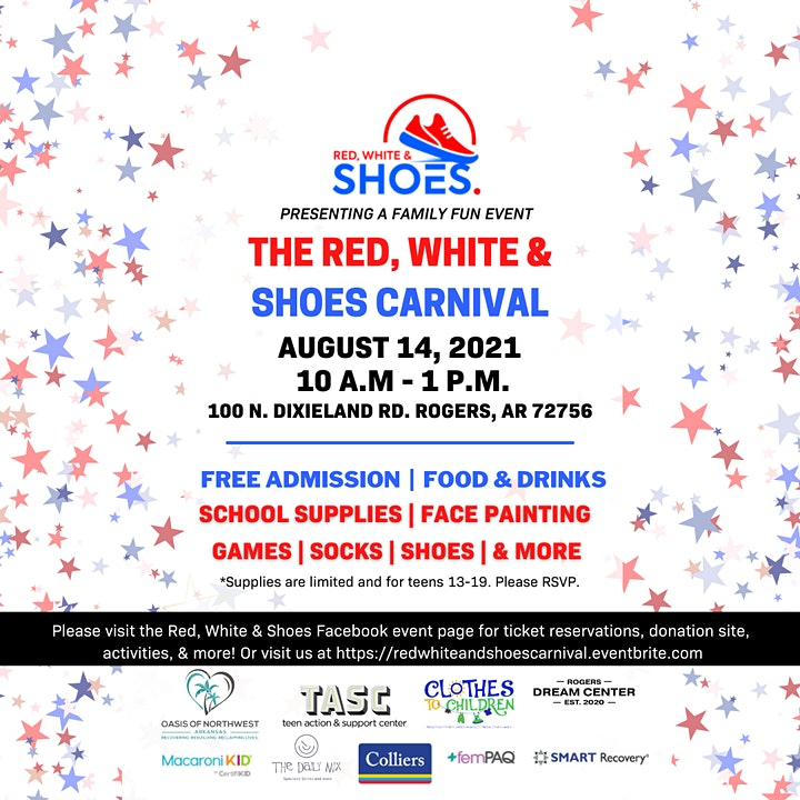 Red, White & Shoes Carnival image