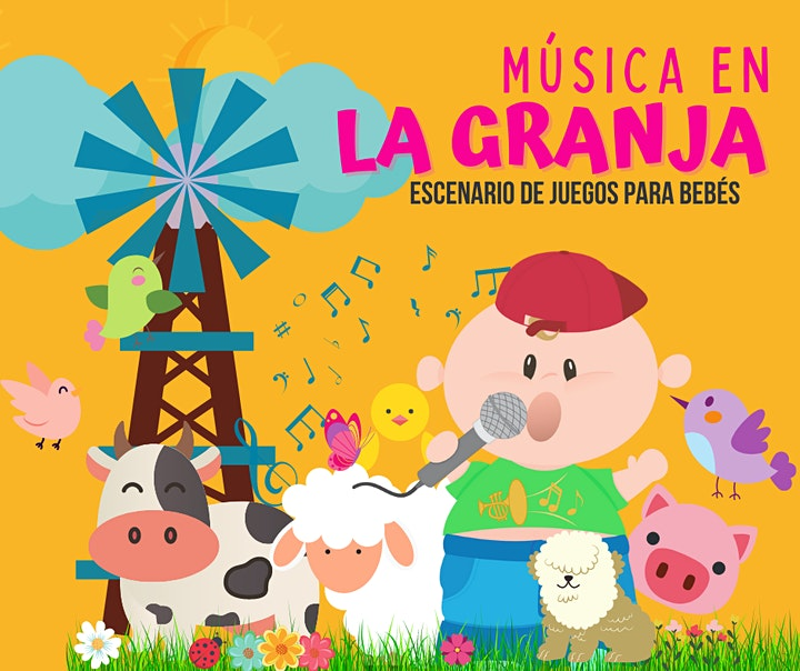 Imagen de Música en la Granja! Encuentro lúdico y musical para BEBÉS