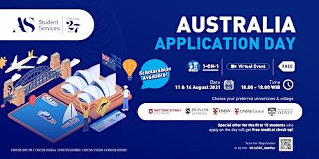Australia Application Day 2021 ingressos