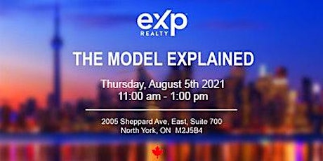 The eXp Model Explained LIVE in Person - FREE Lunch Included tickets