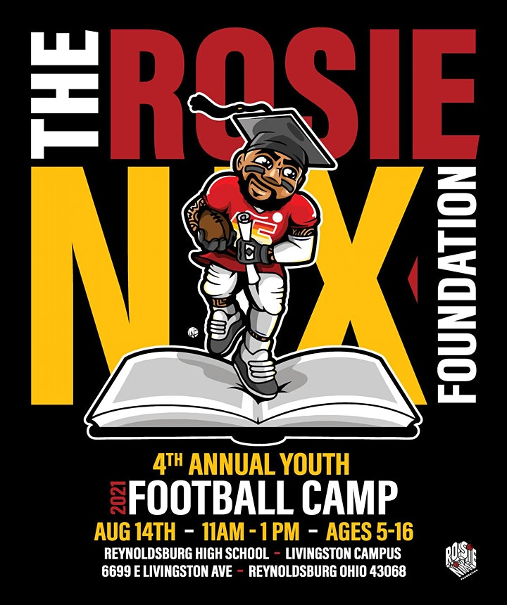 ROSIE NIX YOUTH FOOTBALL CAMP 2021 image