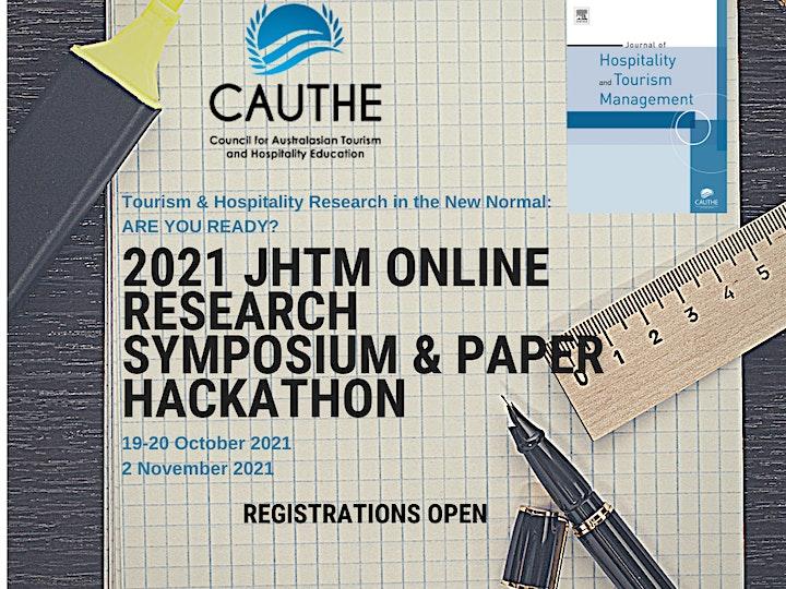 2021 Journal of Hospitality & Tourism Management Online Paper Hackathon image