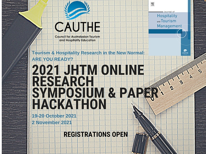 2021 Journal of Hospitality & Tourism Management Online Research Symposium image