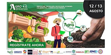 AGRO 4.0 ¨ Agenda de Transformación Digital del Sector Agrícola¨ Ecuador biglietti
