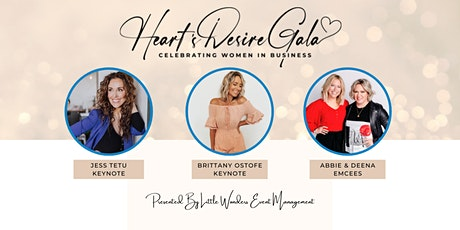Heart's Desire Gala: Celebrating Women in Business tickets