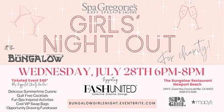 Girls Night Out For Charity tickets