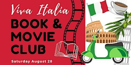 Viva Italia Book & Movie Club tickets
