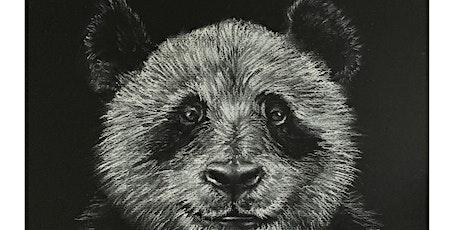Conte Art Class Beginners Level One Panda Bear tickets