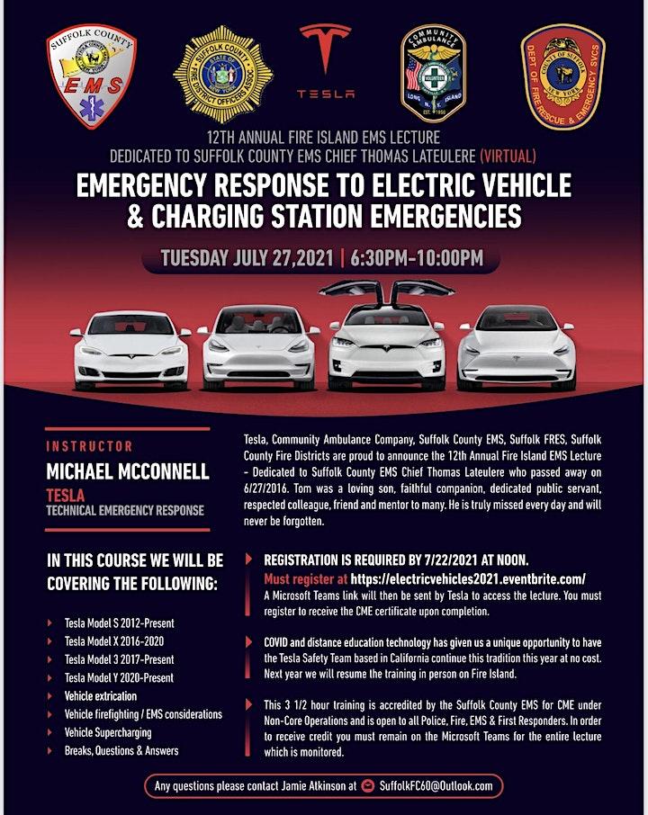 Emergency Response to Electric Vehicle & Charging Station Emergencies image