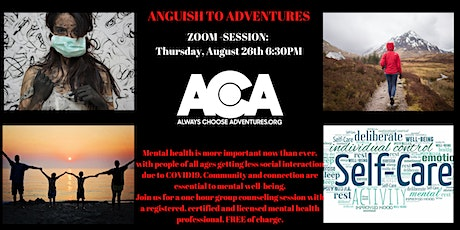Anguish To Adventures - August Session tickets
