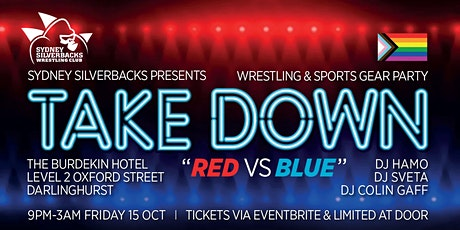 Takedown: Red vs Blue tickets