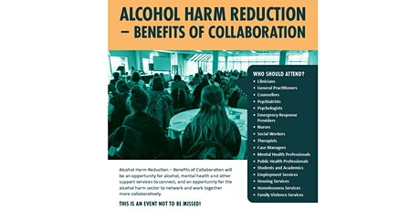 Alcohol Harm Reduction- Benefits of Collaboration tickets