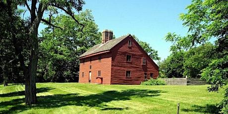 Visit the homestead of Salem Witchcraft Victim Rebecca Nurse- August tickets