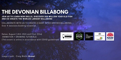 DEVONIAN BILLABONG - PART 3 - ARCHEOLOGY, ILLUSTRATION, LEARN, MAKE, CO-LAB tickets