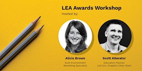LEA Awards Workshop tickets