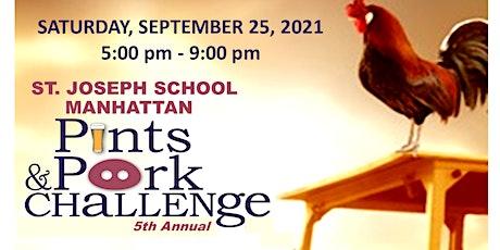 Pints & Pork Challenge tickets