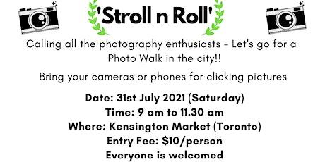 Photo Walk - Saturday tickets