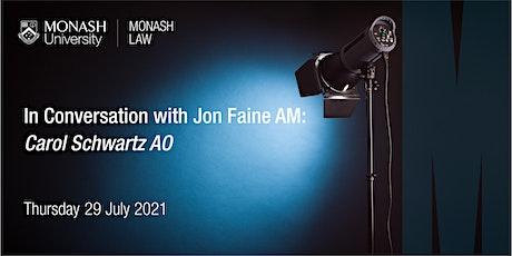 In Conversation With Jon Faine: Carol Schwartz AO tickets