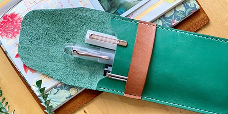Leather Pen Pouch Making Workshop tickets