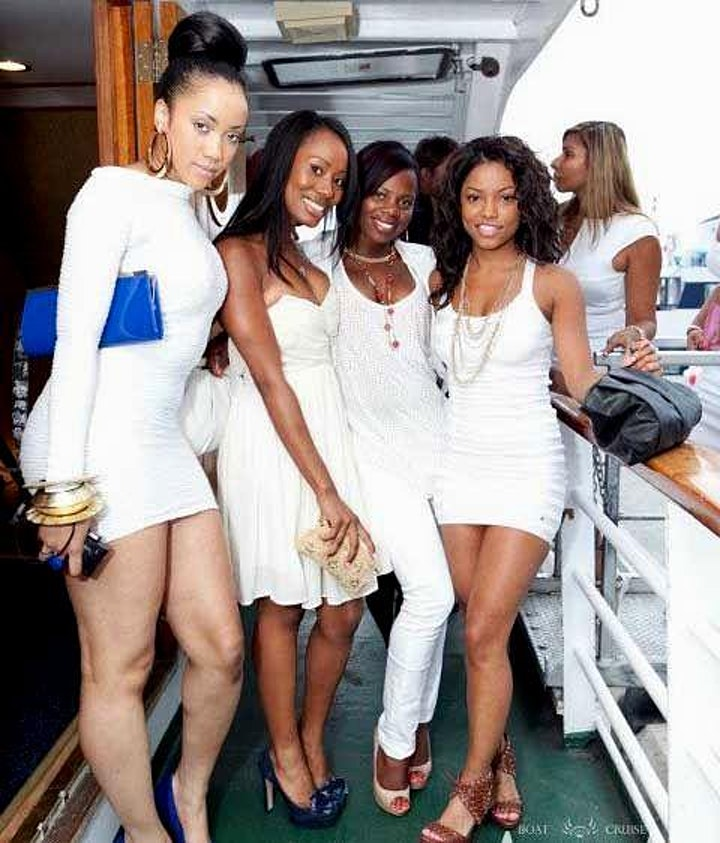 All White Boat Party image