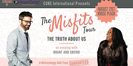 """""""The Misfits Tour"""" An evening with Brant and Sherri tickets"""