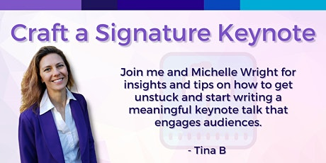 Craft Your Keynote with Confidence tickets