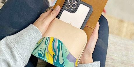 Traveler's Notebook Marbled Leather Pocket Workshop tickets