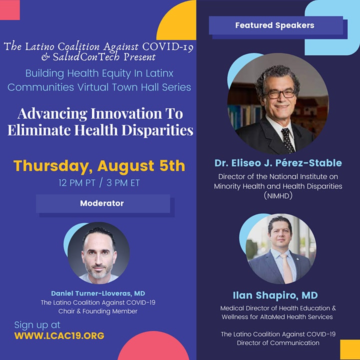 LCAC19 & SaludConTech: Advancing Innovation To Eliminate Health Disparities image
