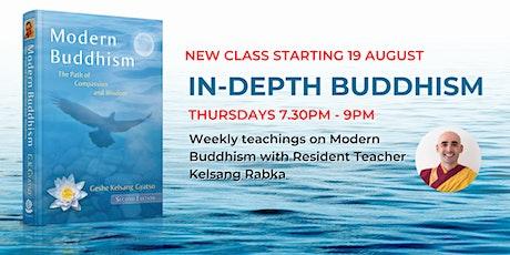 In-Depth Buddhism (August) tickets