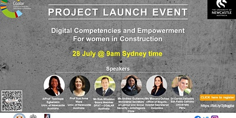 Women in Construction LAUNCH EVENT/Mujeres en la Construcción PRESENTACION boletos