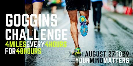 CQ Goggins Challenge for Mental Health tickets